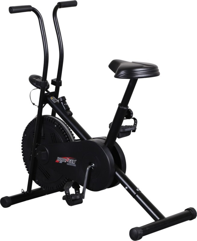 Body Gym Air Bike Bga 1001 Indoor Cycles Exercise Bike(Black)