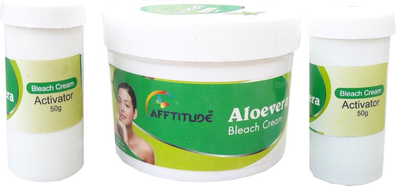 Afftitude Healthy and Radiant Look Aloe Vera Bleach Cream(500 g)