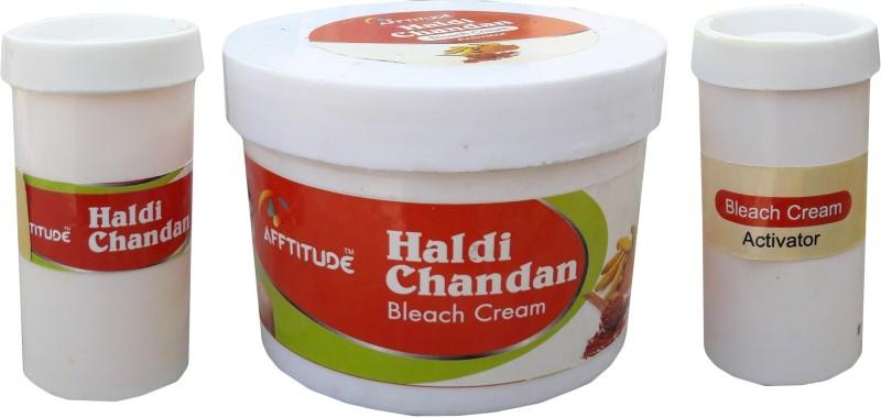 Afftitude Healthy and Radiant Look HaldiChandan Bleach Cream(500 g)