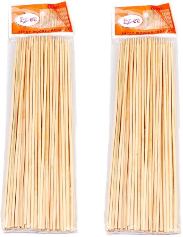 Ezee Disposable Bamboo Roast Fork Set(Pack of 2)