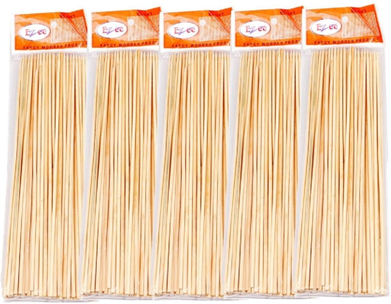 Ezee Disposable Bamboo Roast Fork Set(Pack of 5)