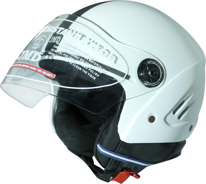 JMD GRAND Motorbike Helmet(White)