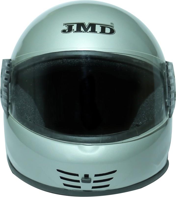 JMD Elegant Motorbike Helmet(Silver)