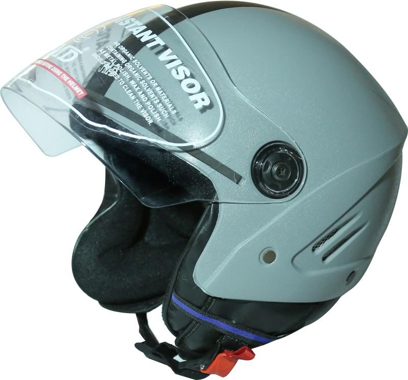 JMD Grand Motorbike Helmet(Grey)