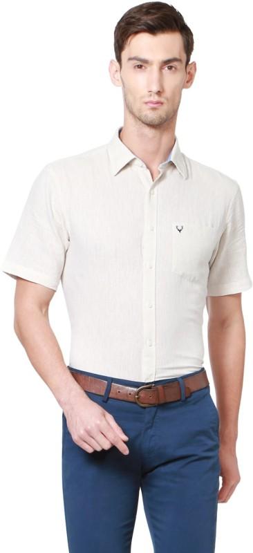 Allen Solly Men Solid Formal Spread Shirt