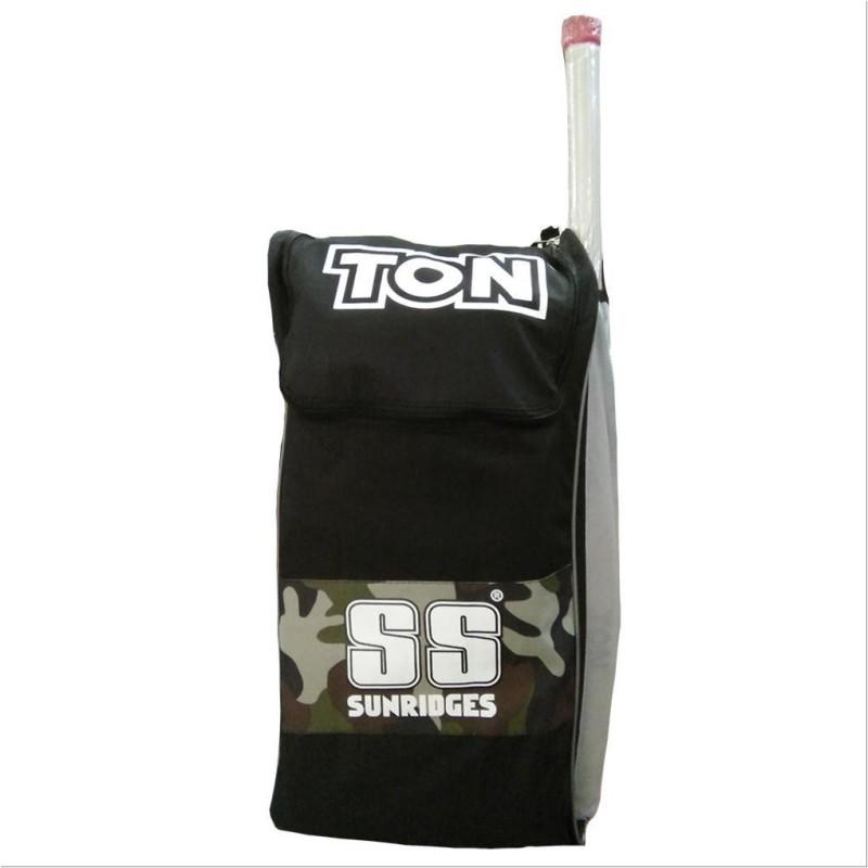 SS colt cricket kit bag(army & black, Kit Bag)
