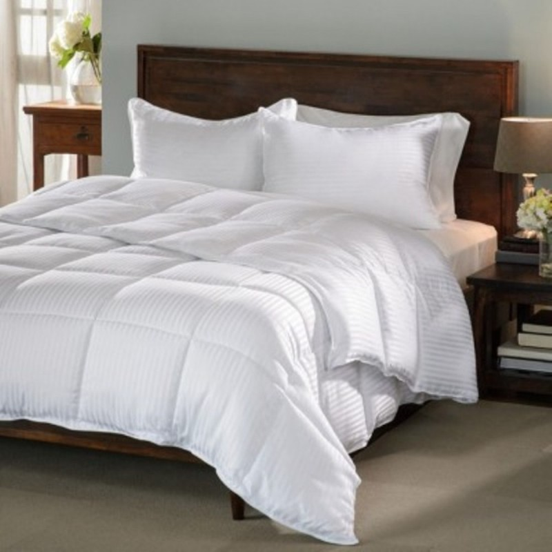 LABNO Plain King Quilts & Comforters White(Micro Quilt, 1 Double...