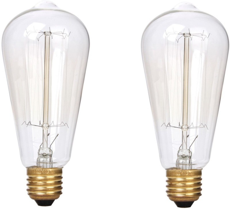 Craftsells 40 W Standard E27 Incandescent Bulb(Clear, Pack of 2)
