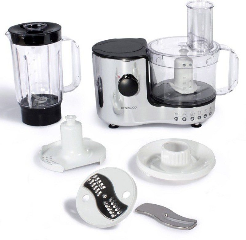 kenwood FP196 600 W Food Processor(Chrome & black)