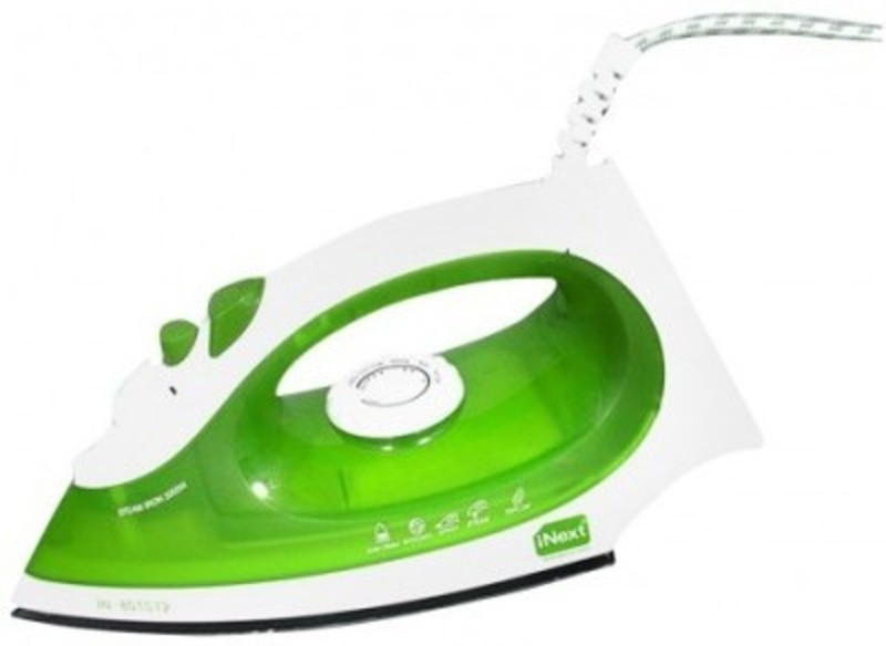 Inext 701ST1 Steam Iron(Green, household, press, iron, home, homecare, daily, gift, mother, homily)