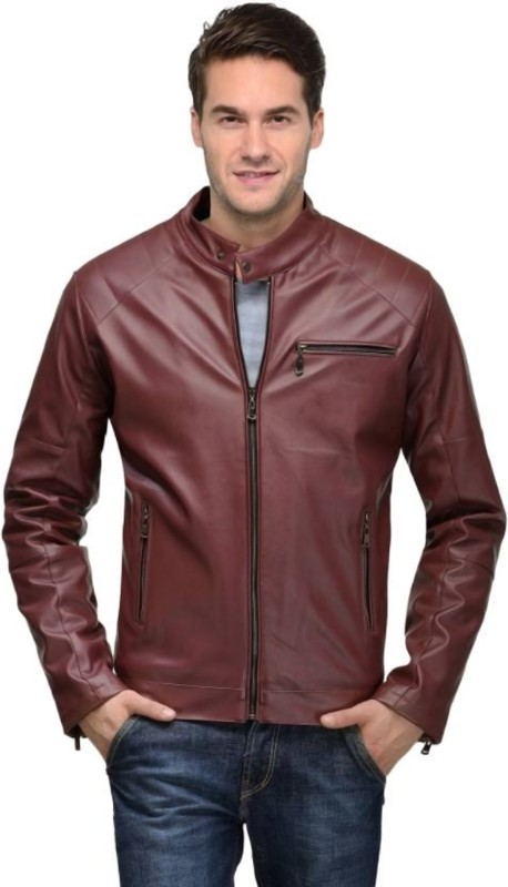 GoldCartz Full Sleeve Self Design Men's Casual Jacket