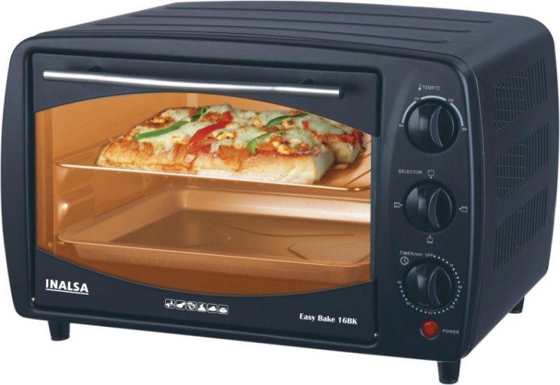 Inalsa 16-Litre Easy Bake 16BK Oven Toast Griller Oven Toaster...
