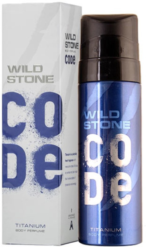 Wild Stone Titanium Body Perfume Perfume - 120 ml(For Men)