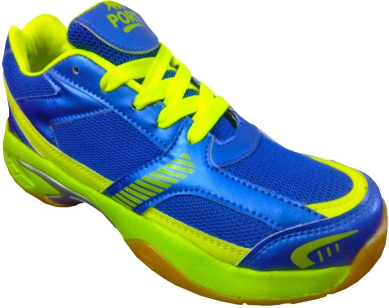 Port Python Badminton Shoes(Blue)