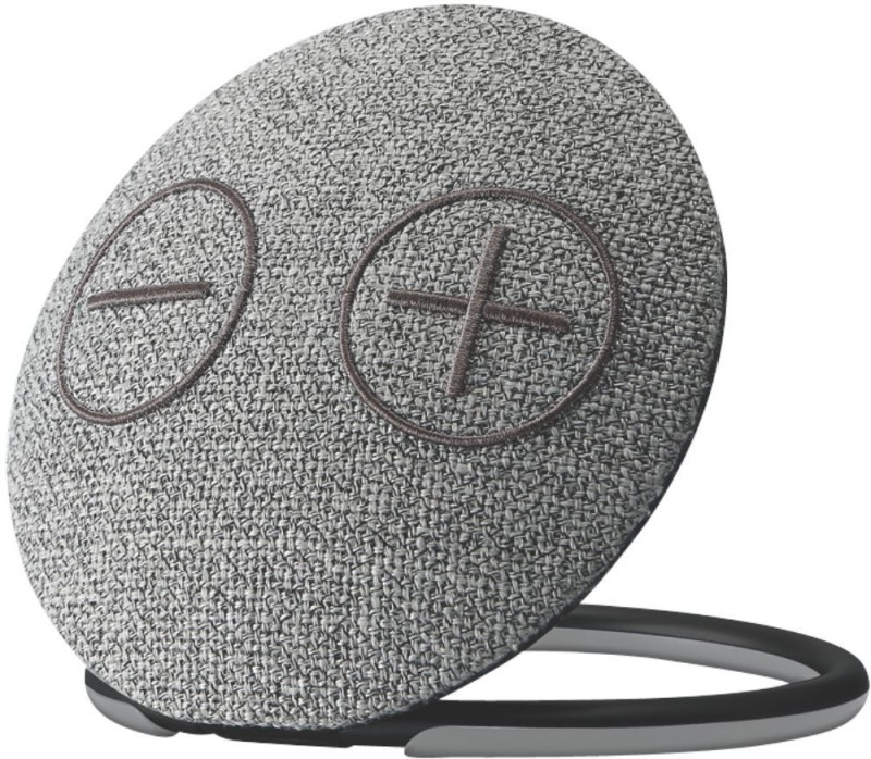 Portronics POR-685 Dome Portable 10 W Bluetooth Speaker(Grey, Stereo Channel)
