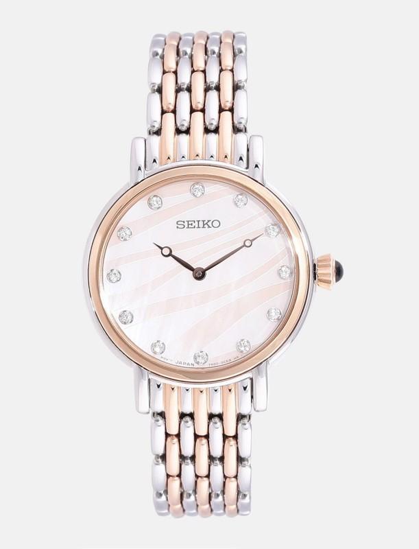 Seiko SFQ806P1 Analog Watch - For Women