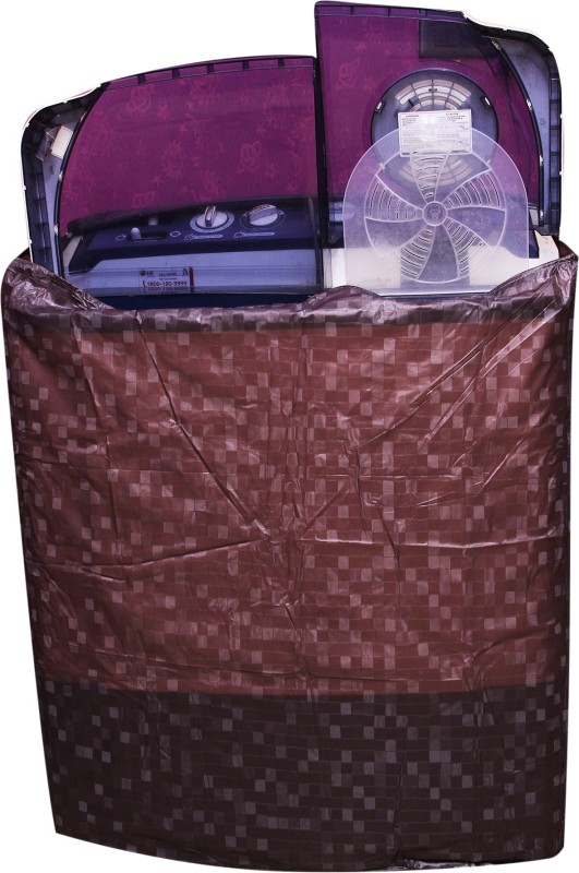 E-Marketeers Washing Machine Cover(Amazing Brown)