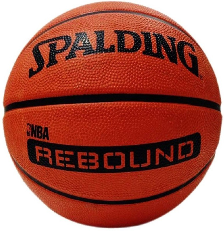 SPALDING NBA Rebound Basketball - Size: 7 Basketball - Size: 7(Pack of 1, Brown)