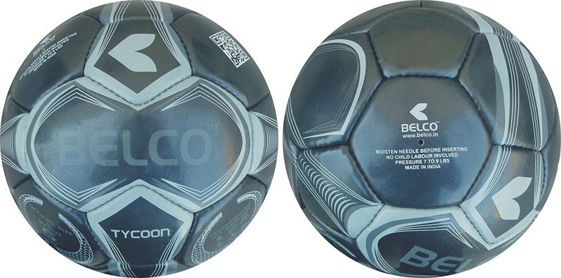 BELCO TYCOON 2 FOOTBALL Football - Size: 5(Pack of 1, Black)