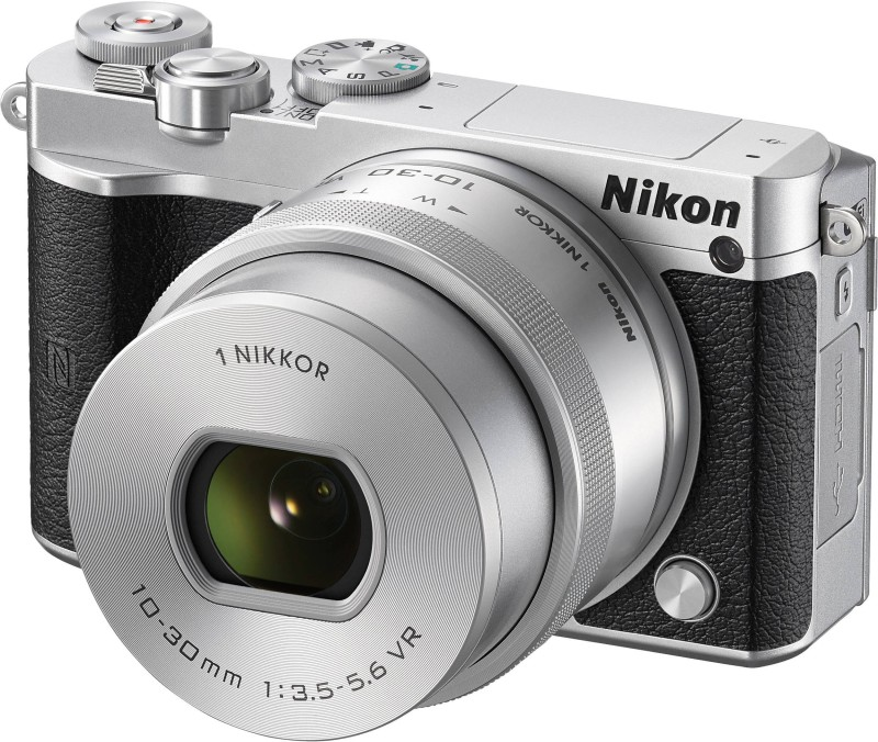 Nikon Nikon 1 J5 Silver With 10-30 mm Lens Mirrorless Camera Body With 10-30 mm Lens(Silver) J5 Silver