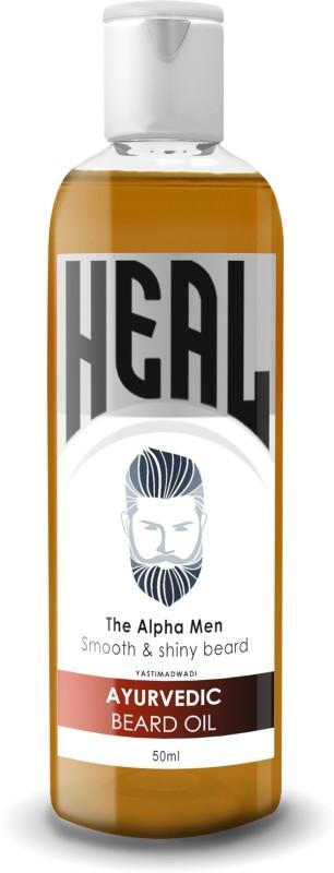 Heal Ayurveda Beard Oil - Smooth & Shiny Beard Hair Oil(50 ml)