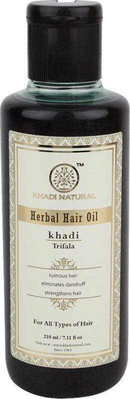 Khadi Natural Herbal Triphala Hair Oil(210 ml)