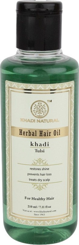 Khadi Natural Herbal Tulsi Hair Oil(210 ml)
