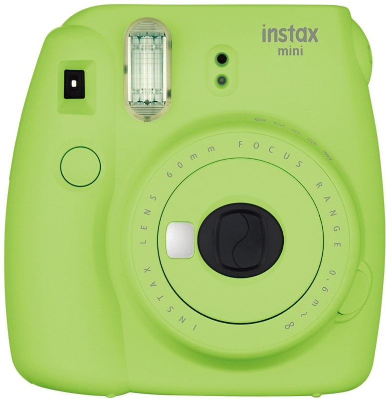 Fujifilm Mini 9 Lime Green Instant Camera(Green) image