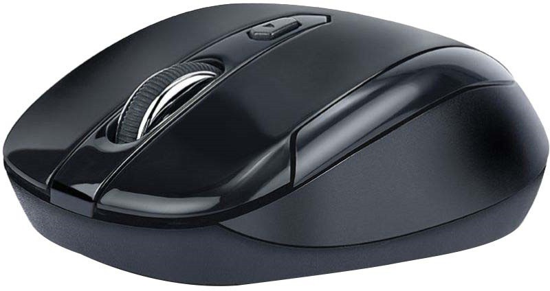 iBall Freego G18 Black Wireless Optical Mouse(USB, Full Back)