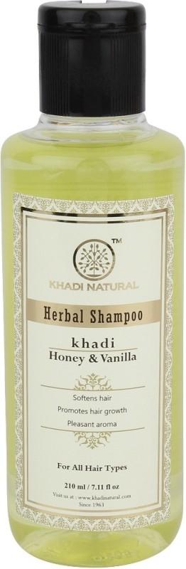 Khadi Natural Herbal Honey & Vanilla Shampoo(210 ml)