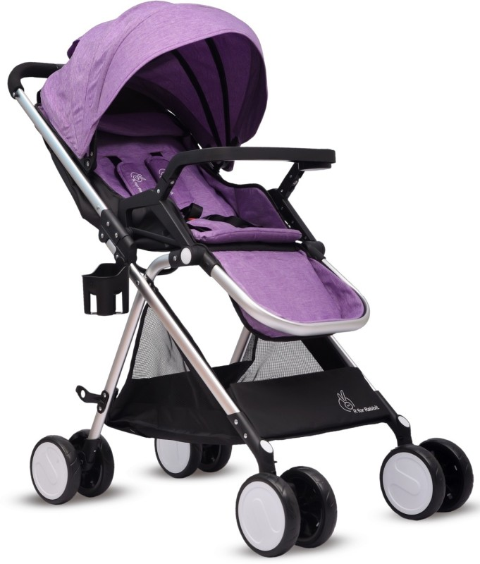 R for Rabbit Giggle Wiggle Stroller(Multi, Purple)