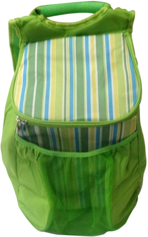 Decorika Polyester Cooler Bag(Green Collapsible)