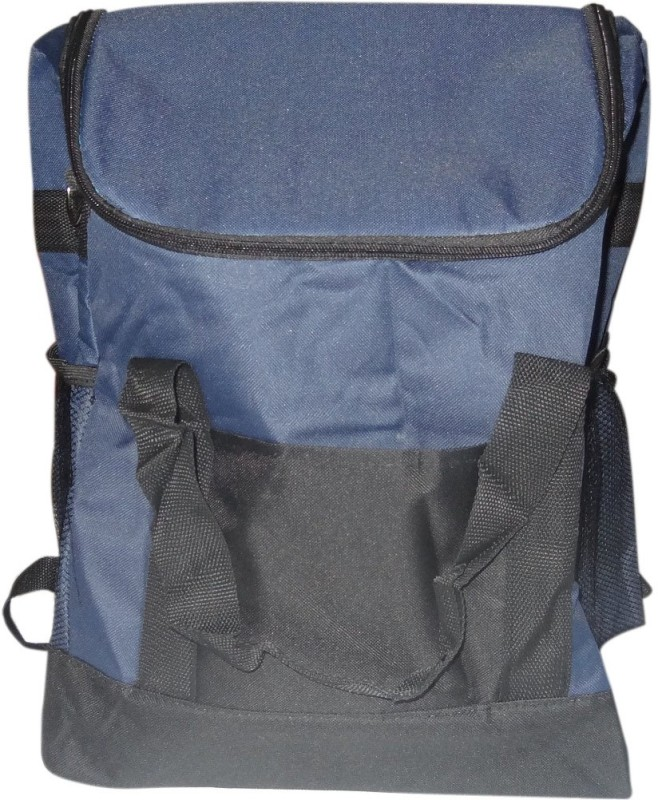 Decorika Polyester Cooler Bag(Blue Collapsible)