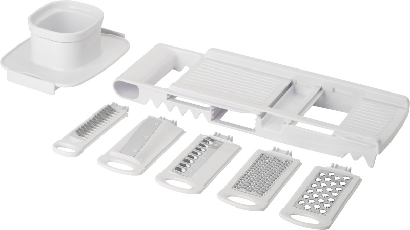 Trudeau Stainless Steel Grater and Slicer(Pack of 8)