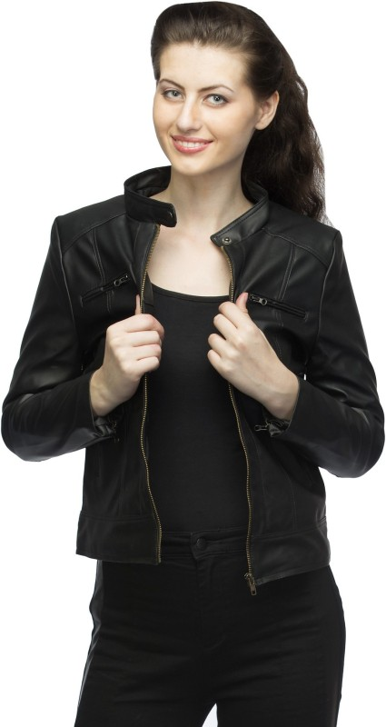 Lambency Full Sleeve Solid Women's Riding Jacket