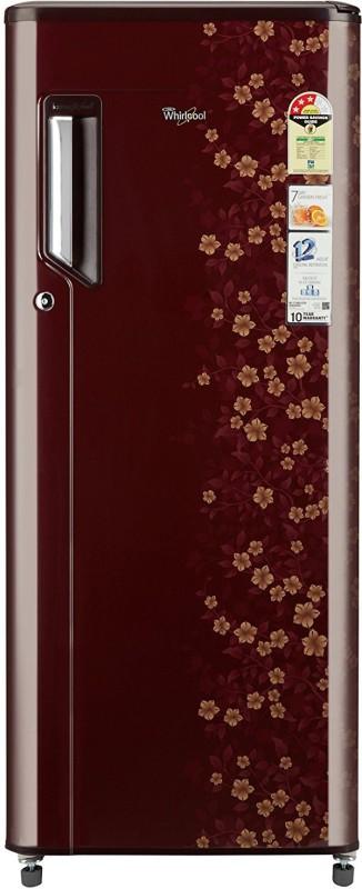 Whirlpool 215 L Direct Cool Single Door Refrigerator(Wine Dior, 230...