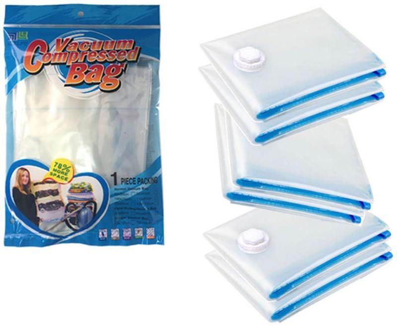 Meded Pack of 6 Medium 60 x 90cm High Volume Storage Vaccum Bags(Pack of 6)