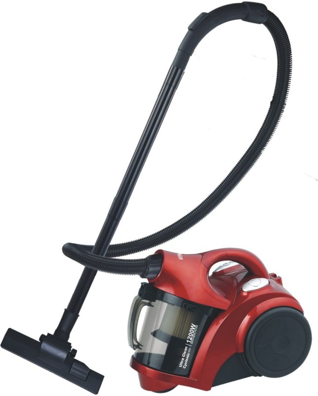 Inalsa Ultra Clean Cyclonic 1200W Dry Vacuum Cleaner(Red, Black)
