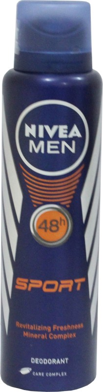 Nivea Men Sport Anti-Perspirant Deodorant Spray - For Men(150 ml)