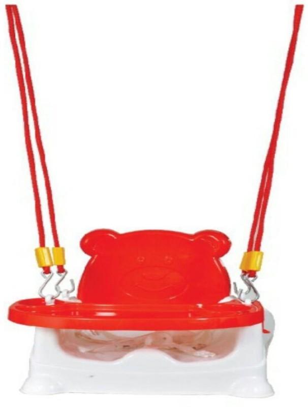 Honey bee 5 in 1 Swing Baby Chair cum Car Seat, Buster Sheet Swings(Red)