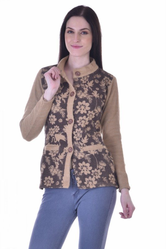 Christys Collection Womens Button Cardigan