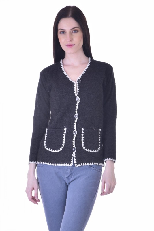 Christy World Womens Button Cardigan