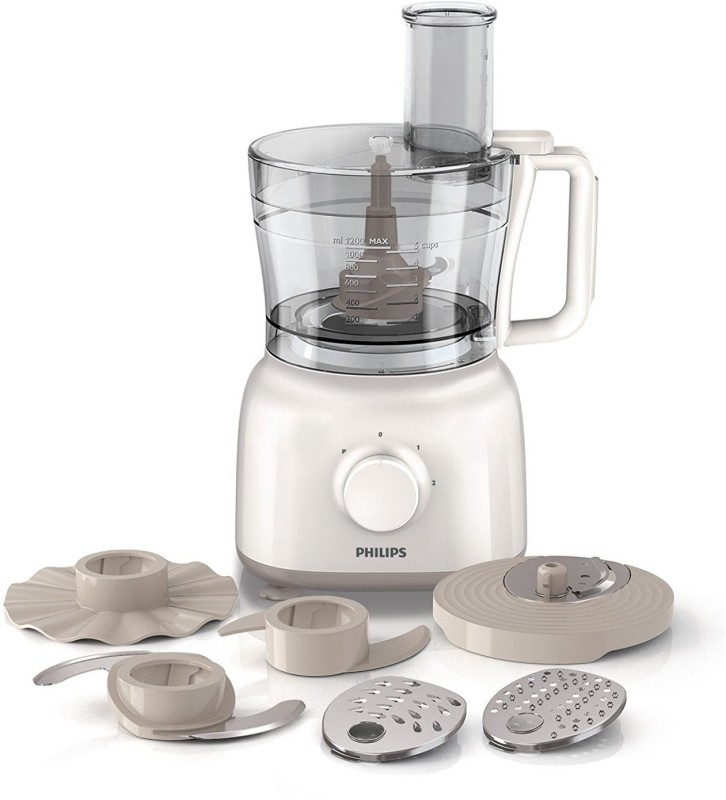 Philips HR 7627/00 600 W Food Processor(White)