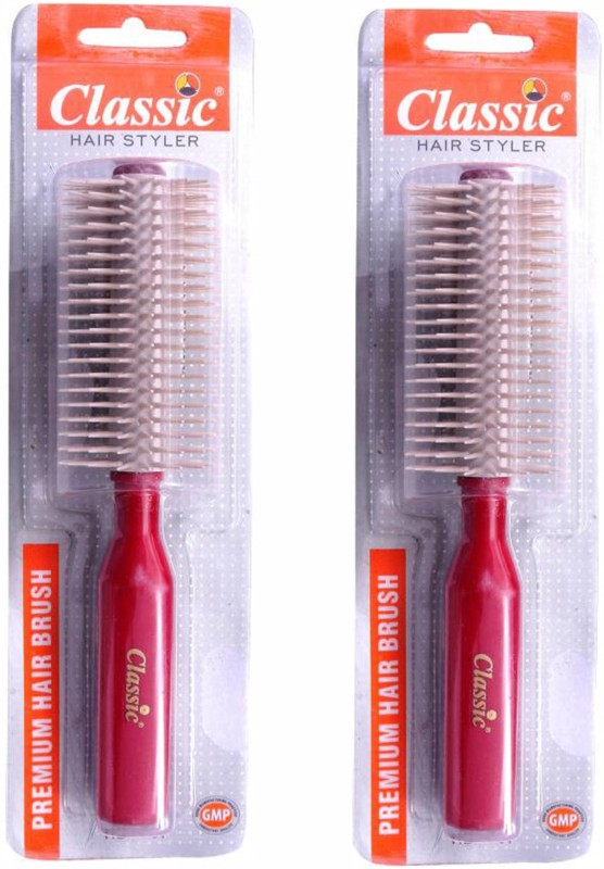Classic PREMIUM HAIR DRESSING AND HAIR STYLING BRUSH (PACK OF 2)