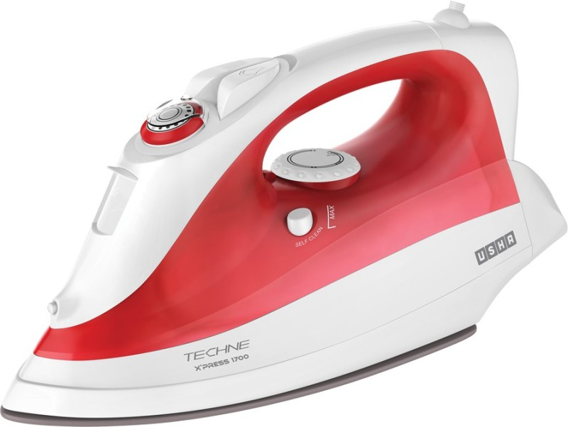 Usha Techne X'press 1700 Steam Iron(Red)