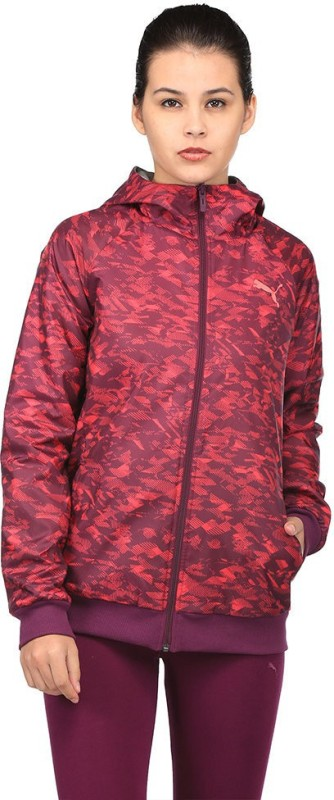 Puma Full Sleeve Printed Women Sports Jacket