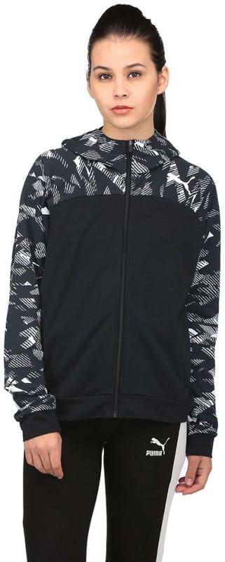 Puma Full Sleeve Printed Women Sports Jacket