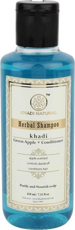 Khadi Natural Herbal Green Apple +Conditioner Shampoo(210 ml)