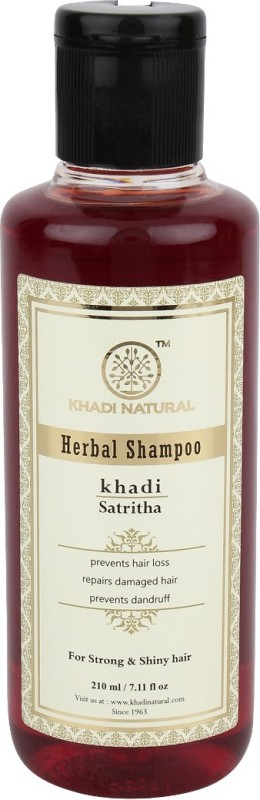 Khadi Natural Herbal Satritha Shampoo(210 ml)