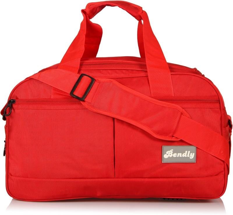 Bendly Explore Travel Duffel Bag(Red)